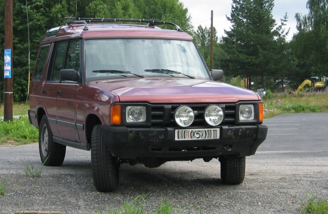 Land Rover Discovery 1989 model