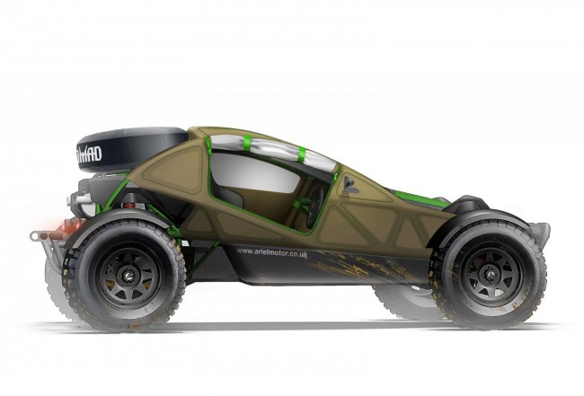 2015 Ariel Nomad off-roader 11