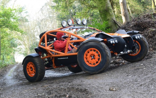 2015 Ariel Nomad off-roader 4