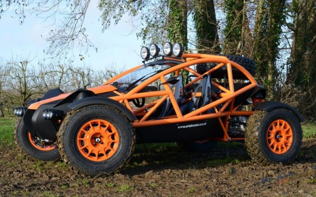 2015 Ariel Nomad off-roader
