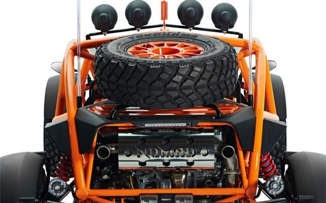 2015 Ariel Nomad off-roader 8
