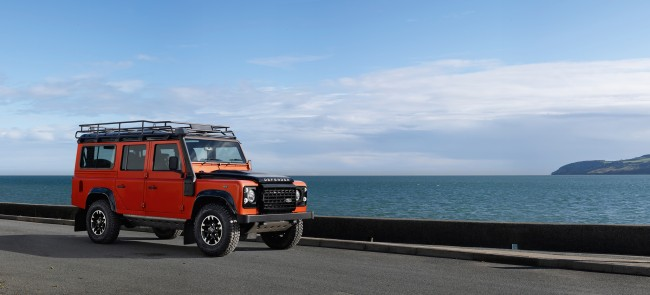 Land Rover Defender Adventure special edition