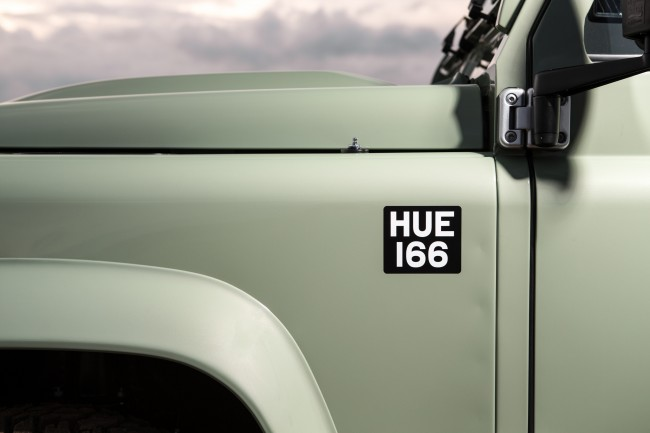 Land Rover Defender Heritage special edition 3