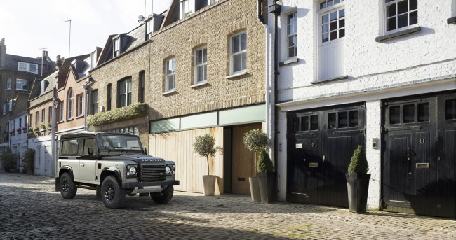 Land Rover Defender special editions autobiography