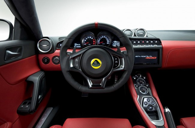 2015 Lotus Evora 400 interior