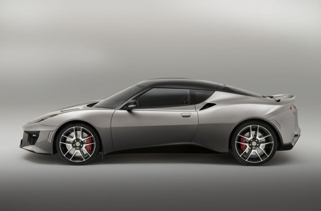2015 Lotus Evora 400 side