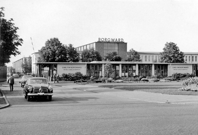 Borgward factory