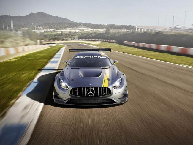 Mercedes-AMG GT3 front