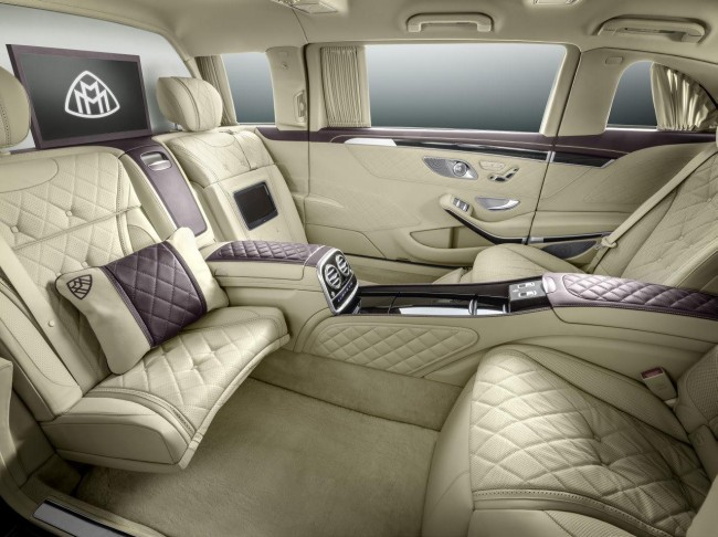 Mercedes-Maybach Pullman S 600 interior