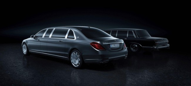 Mercedes-Maybach Pullman S 600 rear