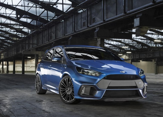 New 2015 Ford Focus RS front side