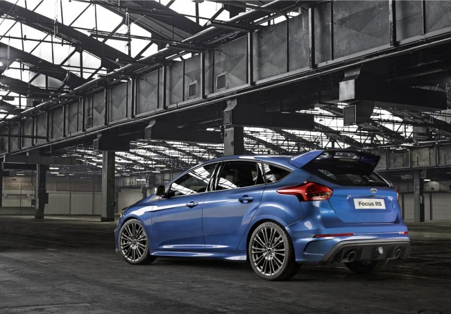 New 2015 Ford Focus RS rear