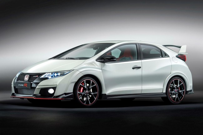 2015 Honda Civic Type R front side