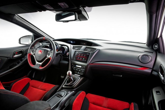 2015 Honda Civic Type R interior 2