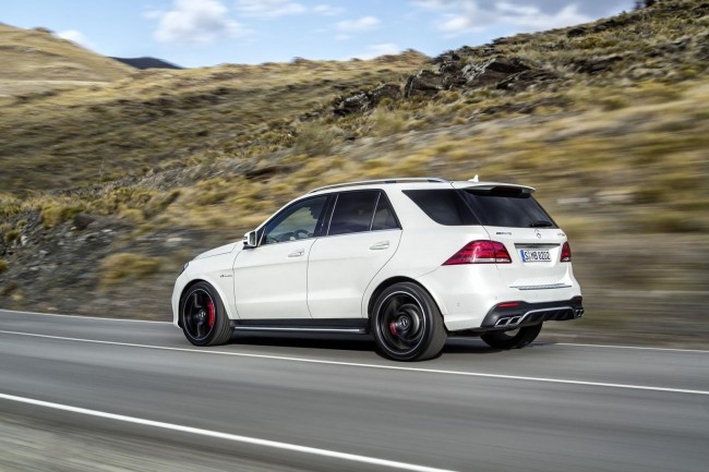 2016 Mercedes GLE 63 AMG rear