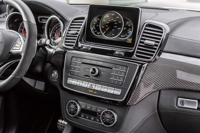 2016 Mercedes GLE interior 2