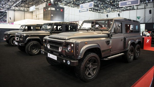 Kahn Design Flying Huntsman 110 WB 6x6 concept 2