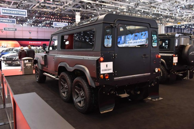 Kahn Design Flying Huntsman 110 WB 6x6 concept 3