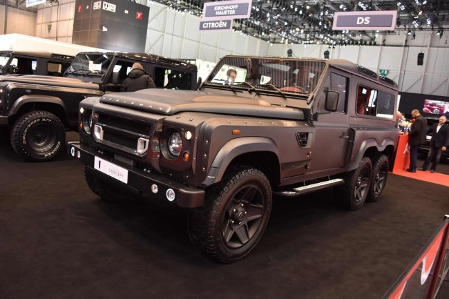 Kahn Design Flying Huntsman 110 WB 6x6 concept 4