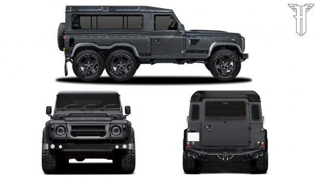 Kahn Design Flying Huntsman 110 WB 6x6 concept 5