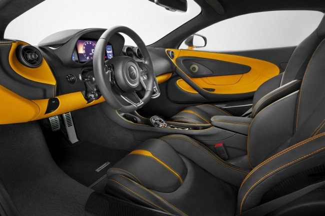 McLaren 570S Coupe interior 3