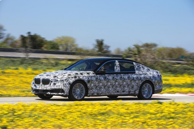 2016 BMW 7 Series prototype 3