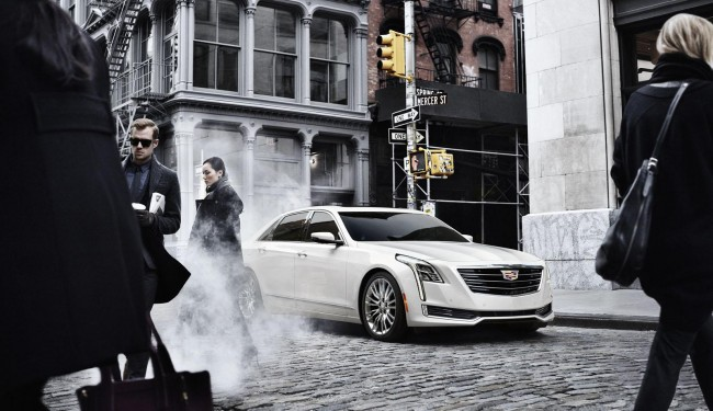 2016 Cadillac CT6 front