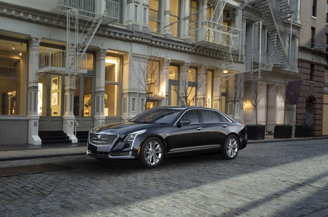 2016 Cadillac CT6 front side