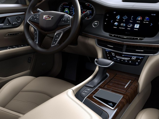 2016 Cadillac CT6 interior 2
