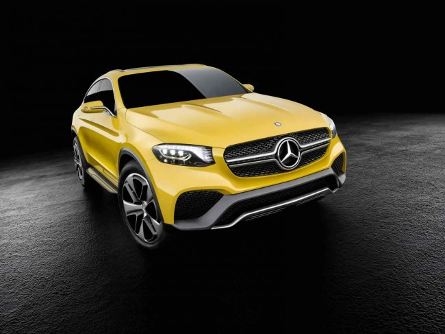 Mercedes-Benz Concept GLC Coupe front