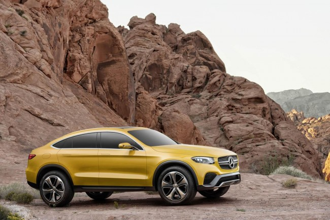 Mercedes-Benz Concept GLC Coupe mountains