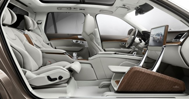 Volvo XC90 Lounge Console concept 4