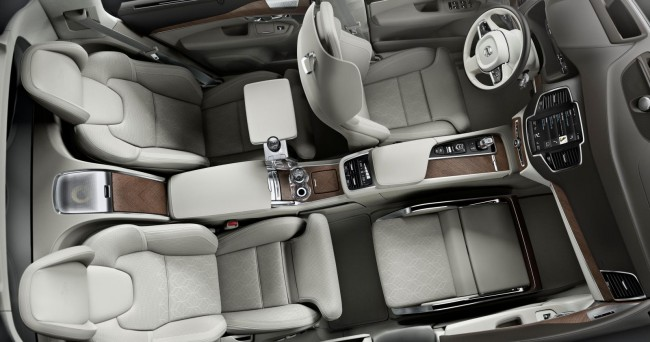 Volvo XC90 Lounge Console concept 7