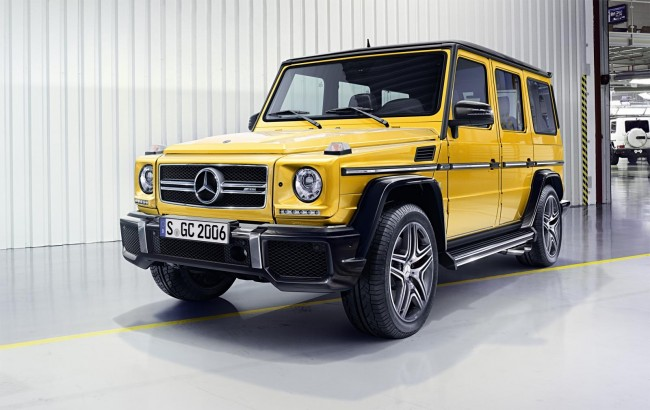 2015 Mercedes-Benz G 65 AMG facelift