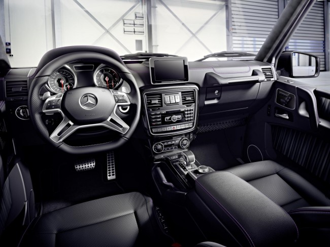 2015 Mercedes-Benz G-Class interior facelift 2