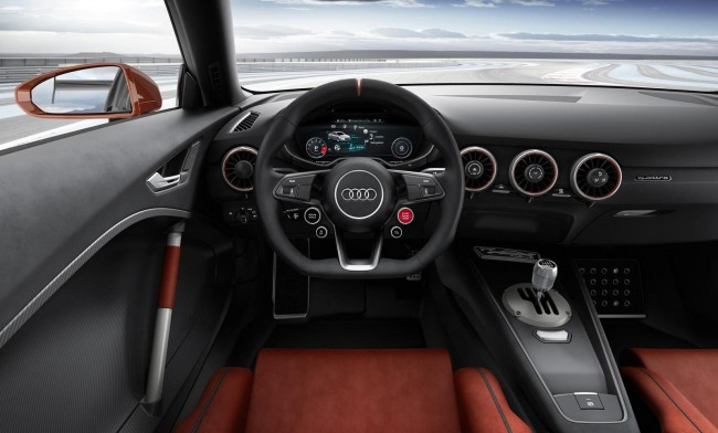 Audi TT clubsport turbo concept interior 2