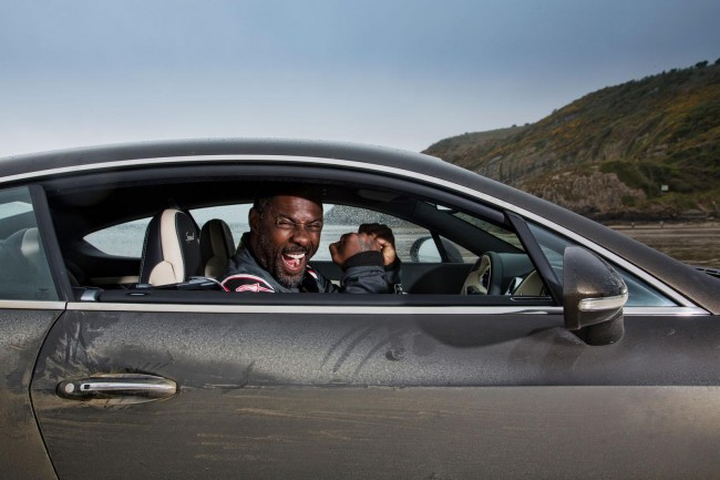 Idris Elba Bentley Continental GT Speed record run 2