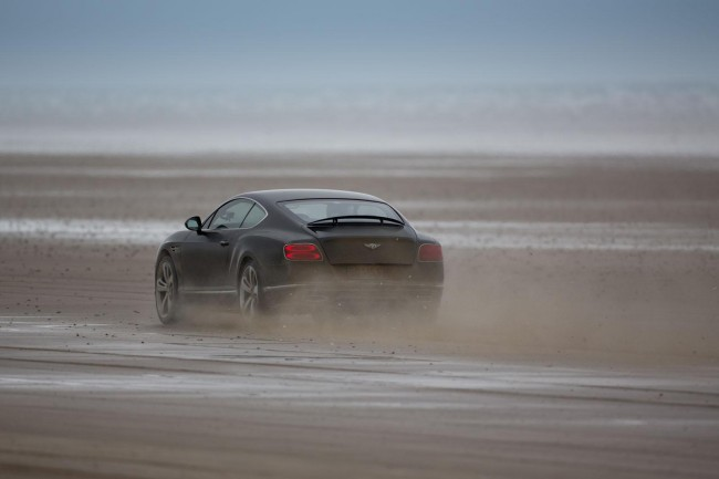 Idris Elba Bentley Continental GT Speed record run 3