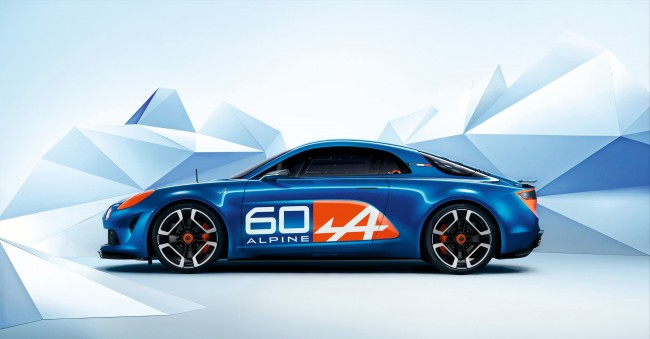 Renault Alpine Celebration concept 2