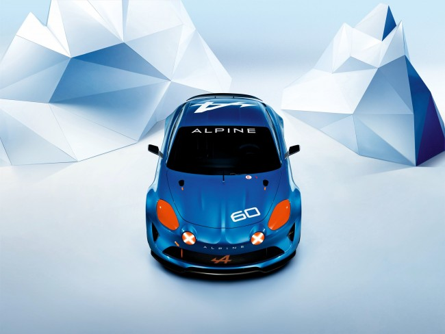 Renault Alpine Celebration concept 5