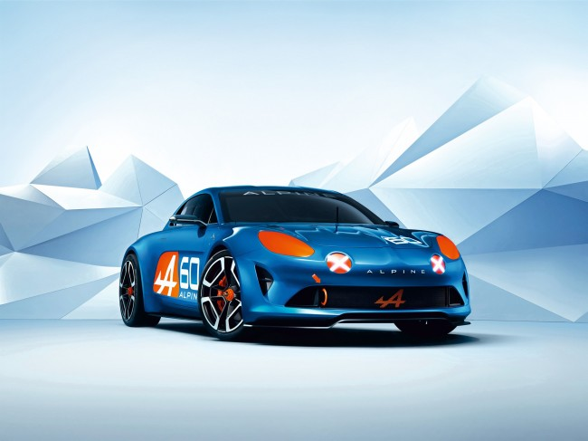 Renault Alpine Celebration concept 7