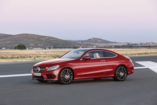 Mercedes C-Class Coupe 2