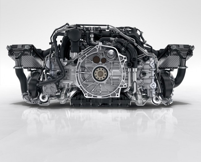 911 Carrera S 3.0-litre biturbo charged six-cylinder flat engine