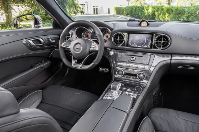 2016 Mercedes SL facelift interior