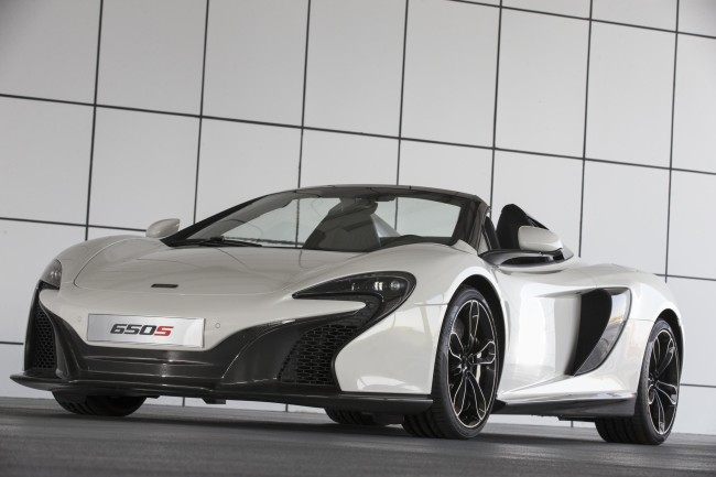 McLaren unveils exclusive 650S Spider Al Sahara 79 by MSO 5