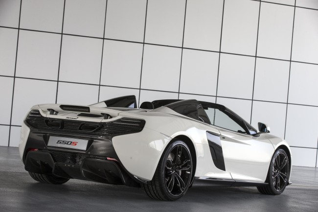 McLaren unveils exclusive 650S Spider Al Sahara 79 by MSO 6