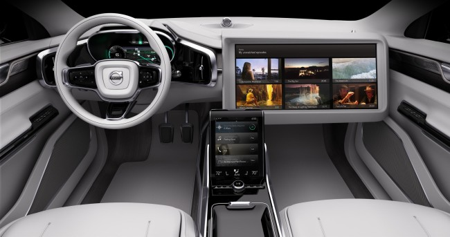 Volvo Concept 26 screen big
