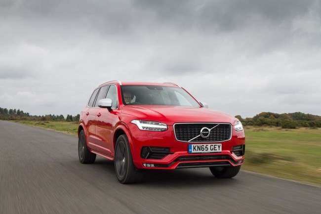 Volvo XC90 R-Design front side