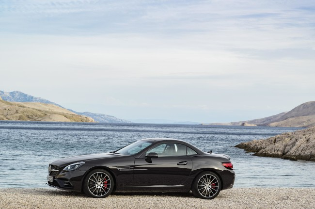 New Mercedes SLC 43