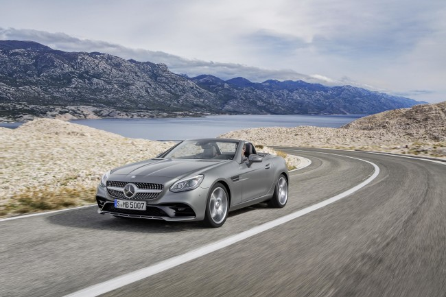 New Mercedes SLC 6